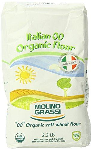Molino Grassi Usda Organic Italian Soft Wheat Flour, 2.2 lb
