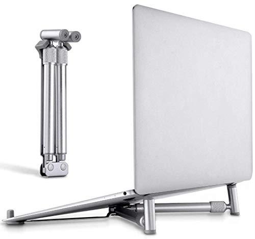 ZLININ El soporte plegable portátil ajustable ergonómico Notebook Riser ventilada Titular de refrigeración