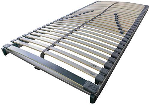 AM Qualitätsmatratzen Stabiler Lattenrost 90x200cm - bis 240 kg belastbar - fertig montiert - XXL Lattenrost in 90x200 cm