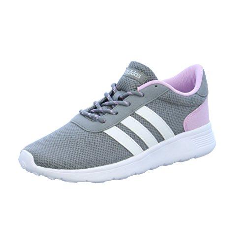 adidas Damen Lite Racer W Sneaker Low Hals, Grau (Gris/ftwbla/Plamat), 36 EU