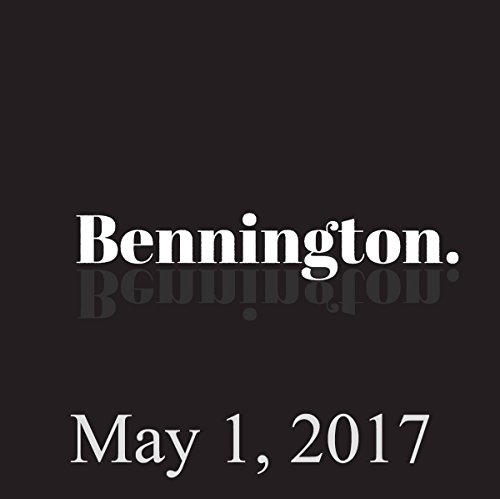 Bennington, May 1, 2017 audiobook cover art