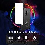 Immagine 1 rgb luce led andoer portatile
