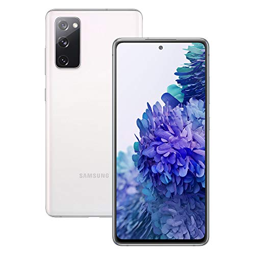 Samsung Galaxy S20 FE Mobile Phone; Sim Free Smartphone - Cloud White (UK Version)