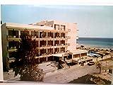 Hotel An - Ba. Cala Millor / Mallorca / Balearen. AK farbig. Gebäudeansicht, Straßenpartie, Swimmingpool, Meerblick, Personen