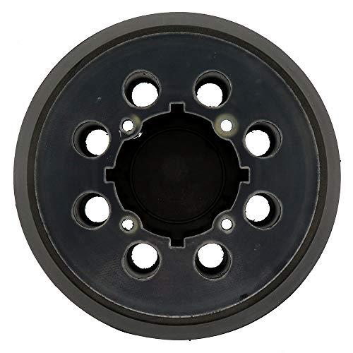FRTUI Almohadilla de Lijadora de Repuesto de Gancho y Bucle de 5 Pulgadas para Lijadora de Pista Aleatoria -Fit DWE6421 / 6421K, DWE6423 / 6423K, DCW210B