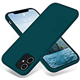 JELE iPhone 11 Case,Silicone Shockproof Case Compatible with iPhone 11 Full-Body Protective Phone Case Slim Thin Cover Bumper Case for iPhone 11(Teal)
