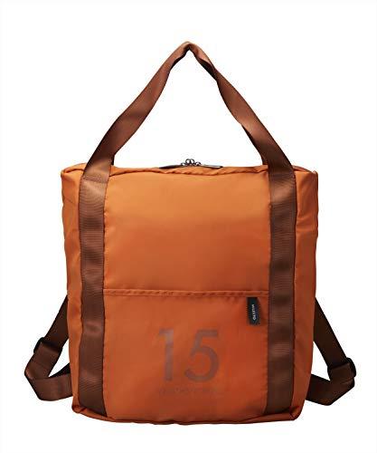 [ミレスト] MILESTO ミレスト バックパック リュック リュックサック メンズ レディース 撥水 軽量 折りたたみ 15l キャリーに通せる キャリーオンバッグ Utility 15L 37 cm オレンジ 橙 orange