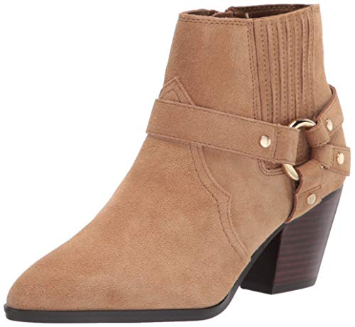 Bella Vita Women's Western Boot, Desert Suede Leather, 7 X-Wide