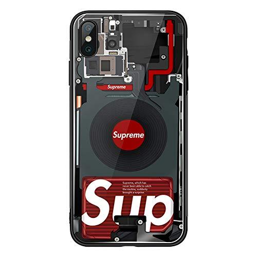 RSDPJ para la Caja del teléfono móvil Iphone11, Tiktok de los Hombres con la Cubierta Protectora Mismo Vaso, Diseño de plástico Blando Frontera,iPhonex/XS