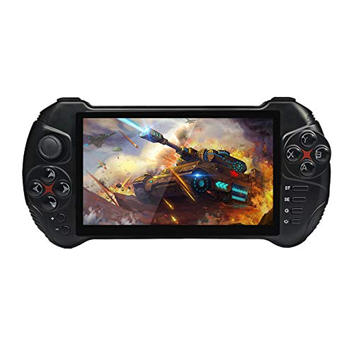 MROSW X15 Game Player Portable Console Portable Jeu Classique Couleurs Simple Enduring Android 7.0 Quad-Core Joueurs 16 Go Gamepad