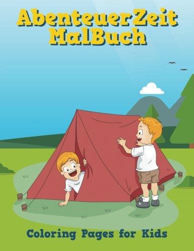 AbenteuerZeit MalBuch