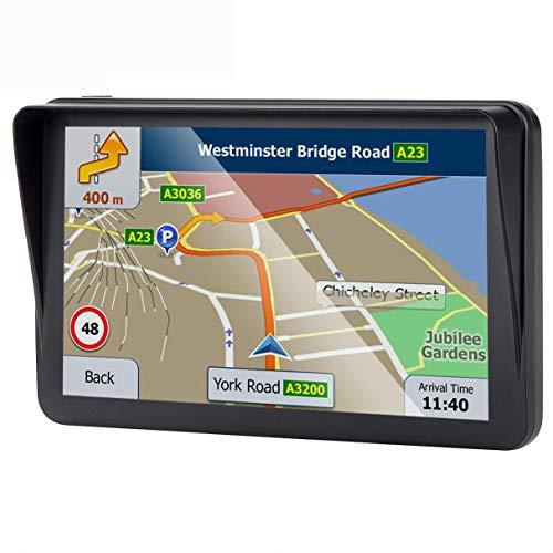 Système de Navigation GPS de Voiture 7 Pouces pour Voiture avec Mise à Jour de Carte à Vie