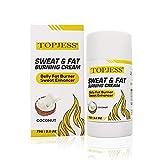 Crema caliente, anticelulitis, sudor y grasa, crema adelgazante, entrenamiento de sudadera, crema quemadora de grasa abdominal para hombres y mujeres, crema térmica para pérdida de peso corporal