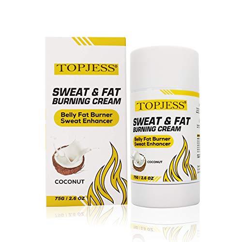 Heiße Creme,Anti Cellulite Schweiß & Fett Creme,Schlankheitscreme, Workout Sweat Enhancer,Bauchfettverbrennungscreme für Männer und Frauen,Körper thermogen Gewichtsverlust Creme,Shapes und Slimming