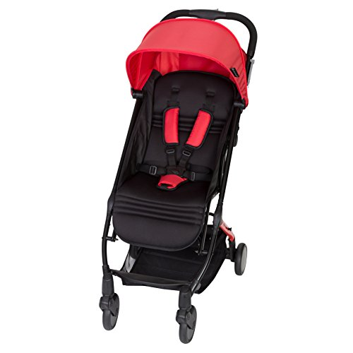 Baby Trend Tri-Fold Mini Stroller, Apple Red