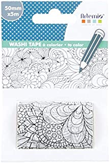 Artemio XL Washi Tape to Decorate - Flowers