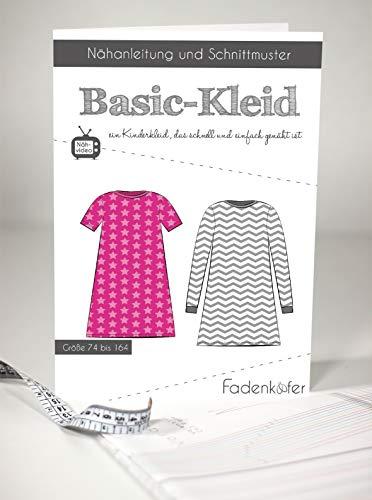 Schnittmuster und Nähanleitung - Kinder Kleid - Basic-Kleid