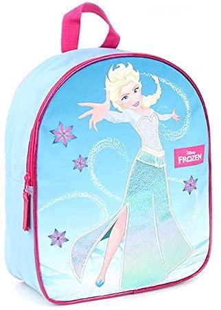 Mochila infantil para guardería y niños con cremallera (Disney Frozen)