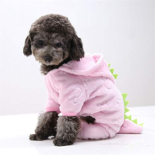 MYYXGS Dog Clothes Thicken Funny Dog Clothes Winter Warm Dog Pet Clothes Hoodie Small And Medium-Sized Dogs