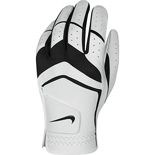 Nike Men's Dura Feel Golf Glove (White), Medium, Left Hand