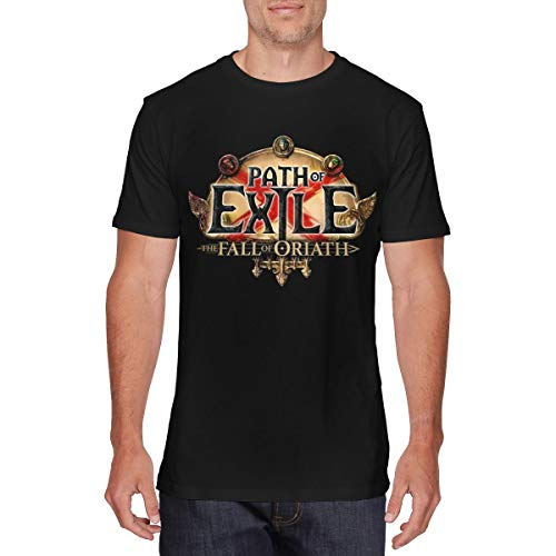 goodbe Mens Particular Path of Exile The Fall of Oriath Tshirt XXL Black
