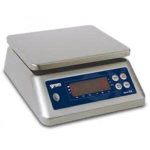 Balanza industrial Gram Precision modelo GX-15K (15Kg/1g) dimensiones del plato 225x185mm