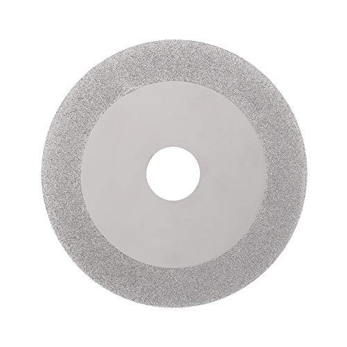 JIAN LIN 100 mm 4'Pulgadas de Diamante Recubierto Recubrimiento Disco de Corte Hoja Hoja de Sierra 20 mm diámetro Interior Rueda giratoria 160 Grit para Molinillo de ángulo