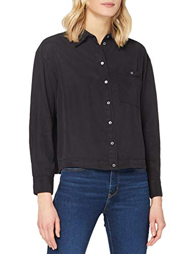 Marc O'Polo Damen 010152542793 Bluse, 990, 36