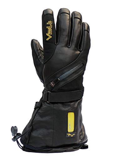 Volt Resistance Mens Titan 7v Heated Leather Glove, Black, Medium