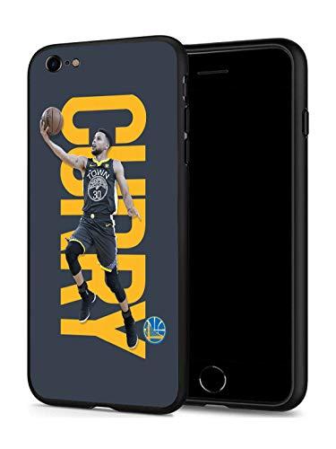 GONA iPhone 6 iPhone 6s Hülle für Basketball-Fans, weiche Silikon-Schutzhülle, dünn, kompatibel mit iPhone 6/6S (nur für iPhone 6/6S), GSW Curry
