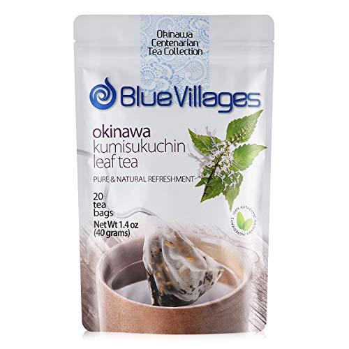 Kumisukuchin Tea (Java Tea/Orthosiphon Stamineus) - Kidney & Liver Cleanse Detox Tea, Improve Memory, Supports Diabetes, Lower Blood Pressure | 100% Pure Leaf, Natural, Organic, Biodegradable Tea Bag, Caffeine-Free from Okinawa