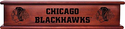 Imperial Officially Licensed NHL Merchandise: Wooden Memorabilia Shelf, Chicago Blackhawks