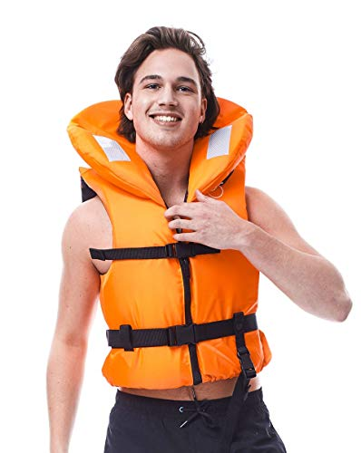 Jobe Comfort Boating Chaleco Salvavidas, Unisex Adulto, Naranja, Extra-Large
