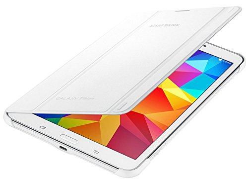 Samsung Folio Book Cover Case for Galaxy Tab 4 8.0 inch - White