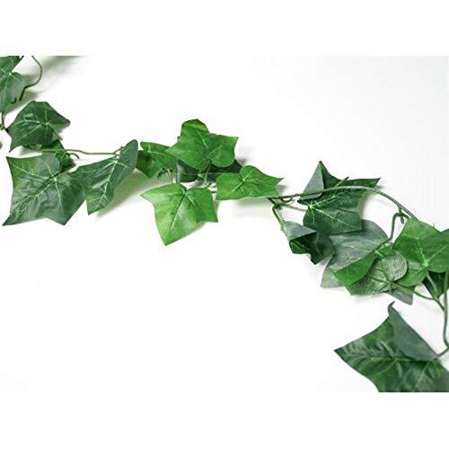 topxingch kunstmatig Engels Ivy wijnstok slingers opknoping groen bladeren muurdecoratie