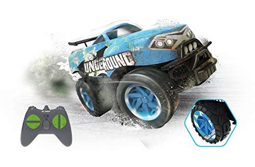 Exost 20612 EXOST-20612-X-Monster-Ferngesteuertes Auto-Spielzeugauto-Kinderspielzeug-2,4 GHz Technologie-Blau-ab 5 Jahren, X-Monster