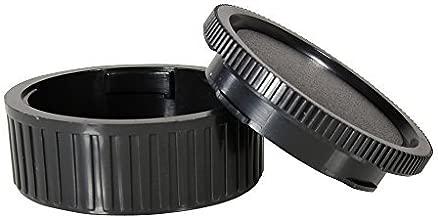 CamDesign Body Cap & Camera Rear Len Cover Set Compatible with Leica M-Mount Camera fits Ricoh A12 Leica M1-M4 M5 CL M6 MP M7-M9 Hexar RF Epson R-D1 35mm Bessa Cosina Voigtlander 35 RF Zeiss Ikon