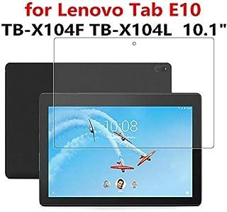 حافظة تابلت وكتب إلكترونية من جرين لايف - حافظة واقية للشاشة من الزجاج المقوى لهاتف لينوفو تاب E10 TB-X104F TB-X104L Tab M...