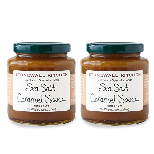 Stonewall Kitchen Sea Salt Caramel Sauce, 12.25 Ounce (Pack of 2)