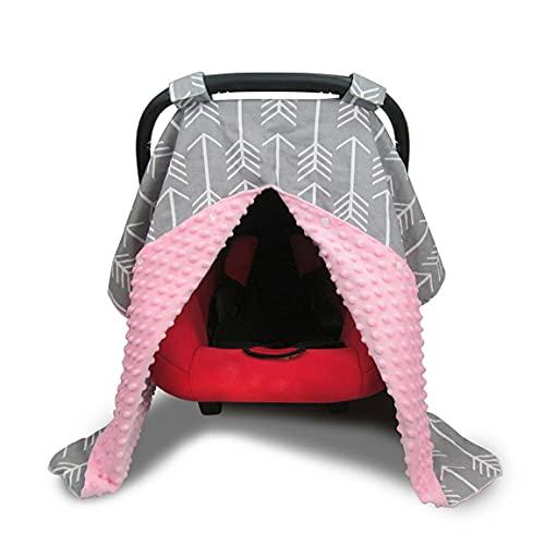 Kinderwagenbezug Herbst Und Winter Winddicht Warme Decke Pflegebezug Atmungsaktiv Einkaufswagenbezug Säuglingspflegebezug - Rosa