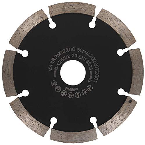 PRODIAMANT Fresa para juntas de diamante, 125/22,23 mm, grosor de 10 mm, disco de fresado adecuado para amoladora angular