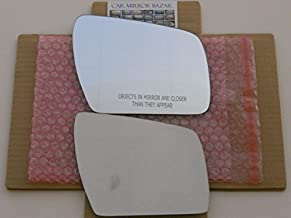 New Replacement Mirror Glass with FULL SIZE ADHESIVE for 2010-2013 KIA SOUL Passenger Side View Right RH