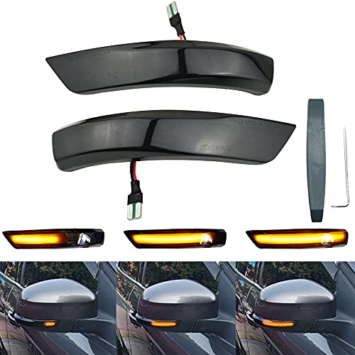 Retrovisor luces indicadoras de giro de intermitentes LED dinámicas para Focus MK3 MK2 Mondeo MK4