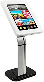 Mount-It! Secure Tablet Stand for iPad - Anti Theft iPad Kiosk - Retail iPad Mount - Security Tablet POS Stand - Locking Tablet Enclosure Stand for iPad 9.7, iPad Air and Galaxy Tab 10.1, MI-3781