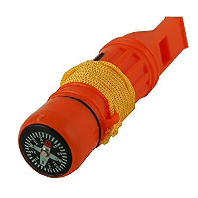 5 in 1 Survival Whistle, Emergency Zone Brand, 1 and 3 Packs Available from Emergency Zone