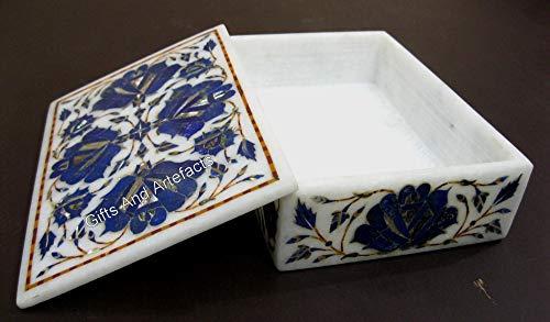 Caja de accesorios de forma rectangular de 7 pulgadas para regalo de aniversario