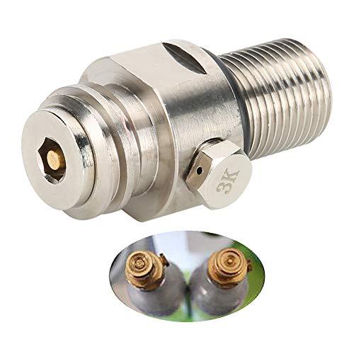 Accesorios de soda duraderos Válvula de cilindro de soda, válvula de soda, cilindro de CO2 Inicio para SodaStream