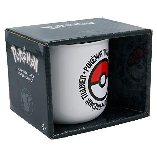 TAZA CERAMICA DESAYUNO 400 ML | EN CAJA REGALO POKEMON DISTORSION YOUNG...