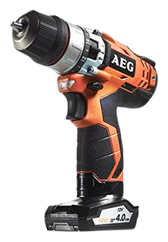 AEG BSB 12C2 drill Negro, Naranja 1,25 kg - Taladro eléctrico (1 cm, 2 cm, 32 Nm, 1,5 m/s², 400 RPM, 1500 RPM)