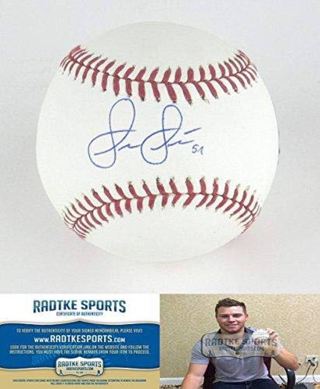 Shae Simmons Autographed Baseball  Rawlings Official Major League  Autographed Baseballs